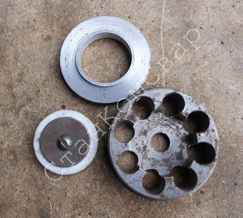 Обратный клапан (упор+седло+пластина) ПК Фото
