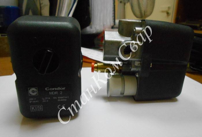 Реле давления Condor MDR2/11 EN 60947-4-1 250V Фото
