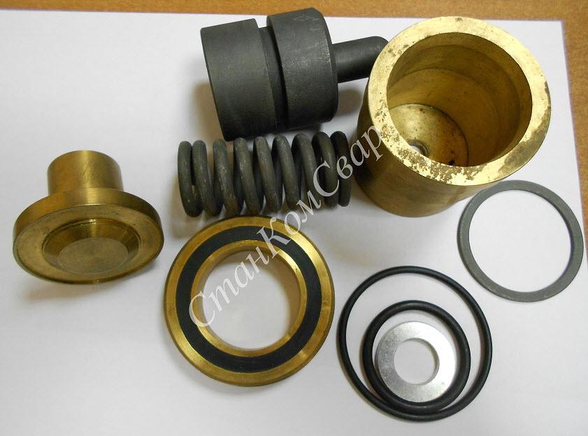 Ремкомплект клапана минимального давления МЗА9 Фото